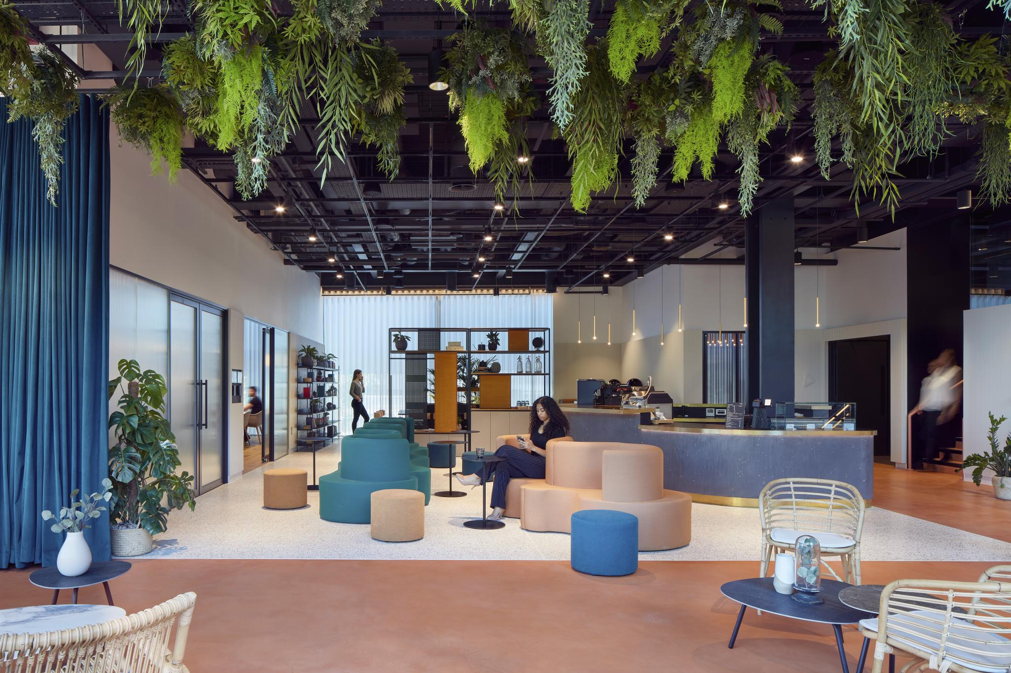Storey Club Shared Space Gensler