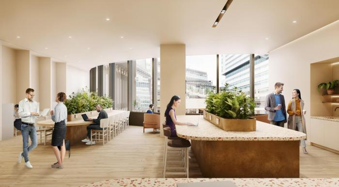 Storey launches new, flexible workspace at 100 Liverpool Street, Broadgate